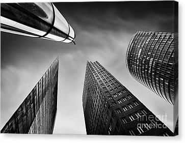 Bahn Canvas Print - Potsdamer Platz 3 by Rod McLean