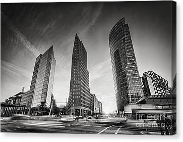 Bahn Canvas Print - Potsdamer Platz 1 by Rod McLean