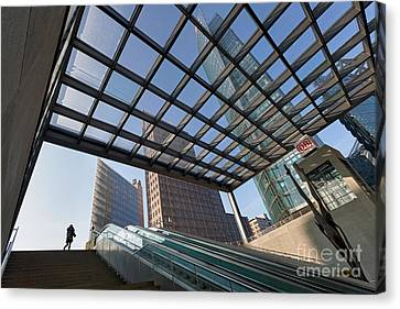 Potsdamer Platz Station Canvas Print