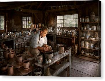 Potter - Raised In The Clay Canvas Print