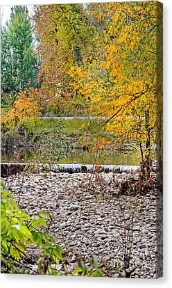 Poudre River-2 Canvas Print
