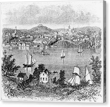 Poughkeepsie, C1840 Canvas Print by Granger