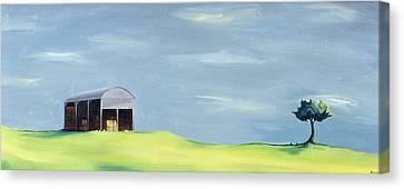 Poulton Fields  Canvas Print by Ana Bianchi