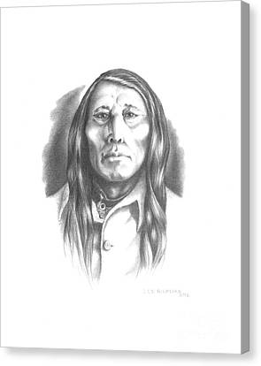 Poundmaker Canvas Print by Lee Updike