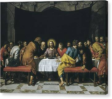 Last Supper Canvas Print - Pourbus, Frans The Younger 1569-1622 by Everett