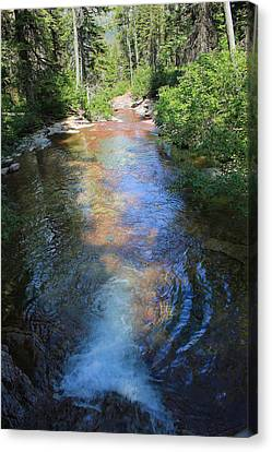 Pouring Into Morning Light Canvas Print
