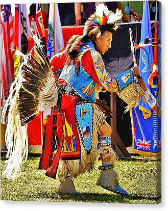 Pow Wow Canvas Print by Al Fritz