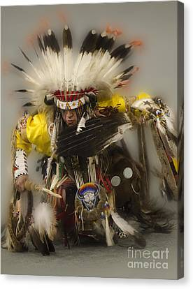 Pow Wow Days Of Thunder   Canvas Print