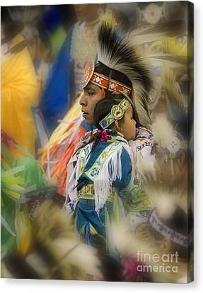 Pow Wow Traditional Ways Of  Learning Canvas Print