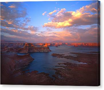Powell Perfect Canvas Print by Ray Mathis