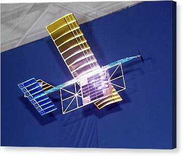 Power-beam Aircraft Research Canvas Print by Nasa/tom Tschida