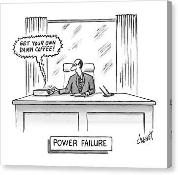 Power Failure Canvas Print