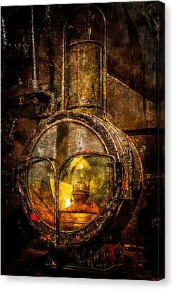 Power Of Light Reflection Canvas Print by Alexander Senin