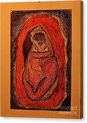 Power  Of  Love... Love...love ... Canvas Print by  Andrzej Goszcz