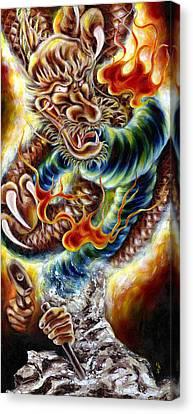Power Of Spirit Canvas Print