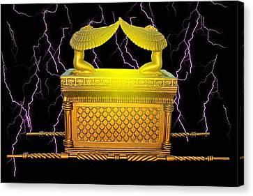 Power Of The Ark Canvas Print by John Swencki