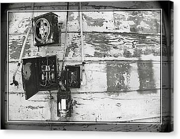 Power Outage Canvas Print