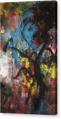 Inferiority Canvas Print - Power Prestige And Position by Paula Andrea Pyle