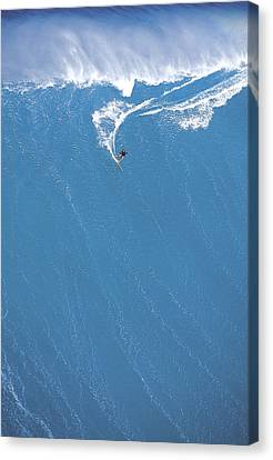 Danger Canvas Print - Power Turn by Sean Davey