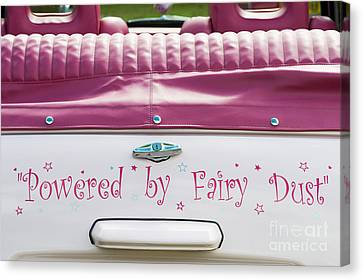 Powered By Fairy Dust Canvas Print by Tim Gainey
