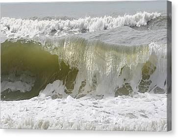 Powerful Wave Canvas Print by Michele Kaiser