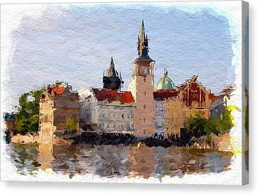 Prag  Canvas Print by Steve K