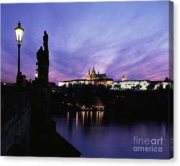 Prague Castle Canvas Print by Rafael Macia