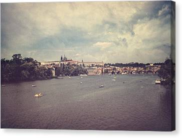 Prague Days II Canvas Print