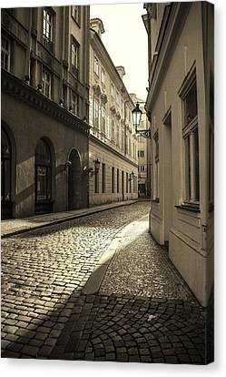 Prague Morning  Canvas Print by Frank Molina
