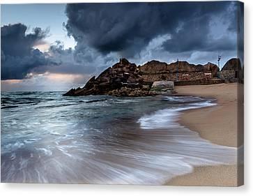 Praia Formosa Canvas Print