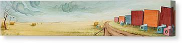 Prairie Candy Canvas Print by Scott Kirby