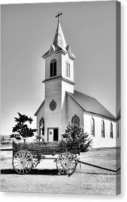 Prairie Chapel 2 Canvas Print