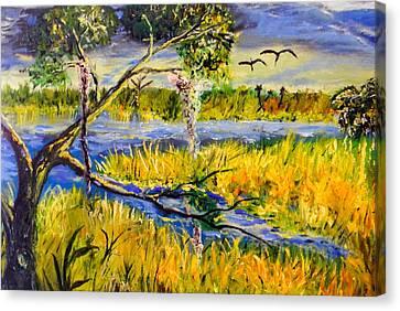 Prairie Canvas Print by Christy Usilton