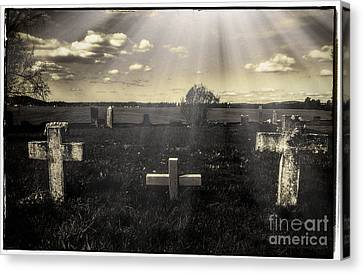 Prairie Graves Canvas Print