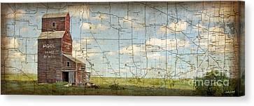 Prairie Panorama Canvas Print by Judy Wood