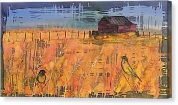 Prairie Song Canvas Print by Carolyn Doe
