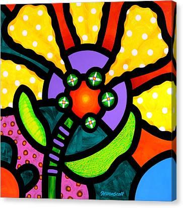 Prairie Sunflower Canvas Print