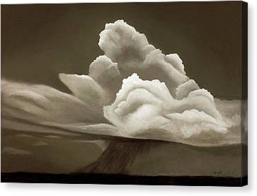 Prairy Storm IIi Canvas Print by Garry McMichael