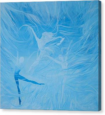 Praise The Lord Dance Canvas Print by Susan Harris