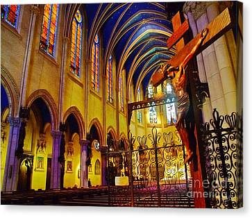 Praise The Lord Canvas Print by Nishanth Gopinathan