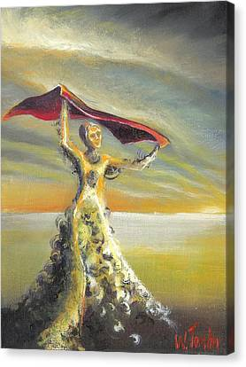 'praise You In This Storm' Canvas Print