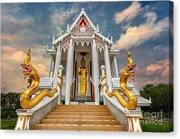 Pranburi Temple Canvas Print