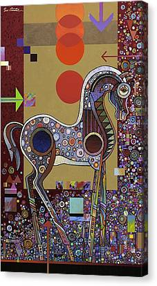 Prancer II Canvas Print by Bob Coonts