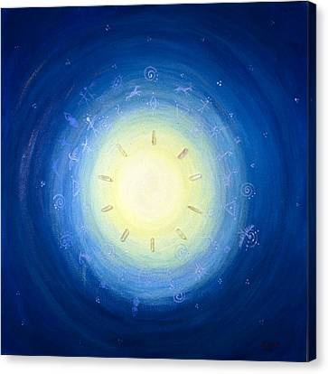 Moon Song Canvas Print by Janelle Schneider