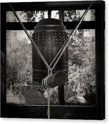 Canvas Print featuring the photograph Prayer Bell by Darryl Dalton