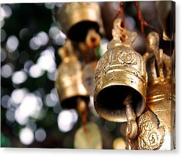 Prayer Bells Canvas Print by Kaleidoscopik Photography