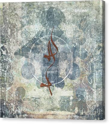 Prayer Flag 12 Canvas Print
