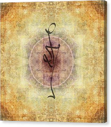 Fabric Canvas Print - Prayer Flag 38 by Carol Leigh