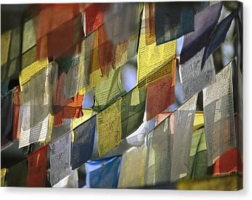 Prayer Flags Canvas Print