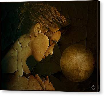Totality Canvas Print - Prayer For Wholeness by Gun Legler